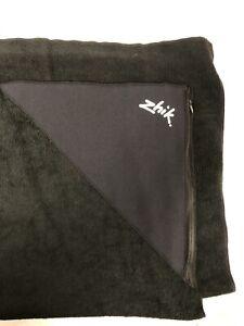 Towel Zhik 100% Polyester Color Black New