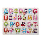 26pcs Wood Alphabet English Letters Puzzle Jigsaw Educational Toy Gift