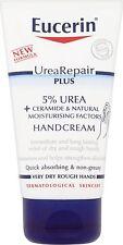 EUCERIN UREA REPAIR PLUS 5% UREA + CERAMIDE HAND CREAM - 75ML