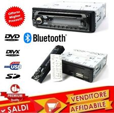 AUTORADIO STEREO AUTO RADIO FM MP3 SD USB DVD CD AUX 52Wx4 VIVAVOCE BLUETOOTH