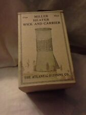 Vintage  Stove Wick  Repair Part  Miller Brand  Atlantic Refining Co New in Box