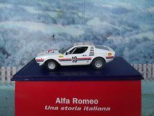 1/43 M4 (Italy) Alfa romeo Montreal corsa Zolder 1974