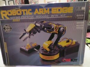 OWI 535 Robotic Arm Edge Wired Control Robotic Arm STEM Science Education Kit