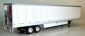 DCP WHITE  TANDEM AXLE DRY VAN WITH SKIRTS 1/64 60-0902 T
