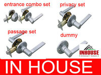 FreeShipping!!Door handles-Passage,Privacy,Entrance with Deadbolt,Dummy, Satin