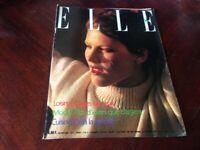 Rivista Magazine Elle France 5 Janvier 1976