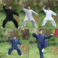 Kung Fu Tai Chi Cotton Uniform Clothing Martial Arts Wushu Taiji Wing Chun Suit