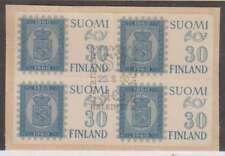 C0941: Finland #367 Used Block, Sound; CV $36+