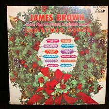 James Brown - Christmas Songs - King 1010 Stereo - Blue Label - LP VINYL