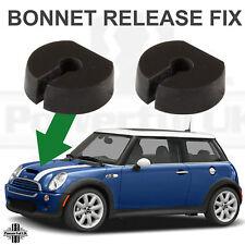 2x Bonnet Hood Release Cable Spacer Rondelle Fix pour BMW Mini One/Cooper 2001-06