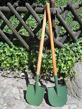 4 Stück  Pionierspaten Spaten Gartenspaten Rundblattspaten Spaten NVA
