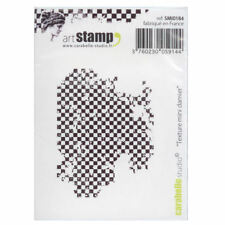 Carabelle Studio SMI0184 Cling Stamp - Texture Mini Damier (checkerboard)