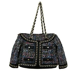 Jacket shaped novelty ladies handbag