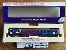 Dapol Class 153 dummy ND-115D DCC Fitted NORTHERN RAIL Weathered - N Gauge DMU