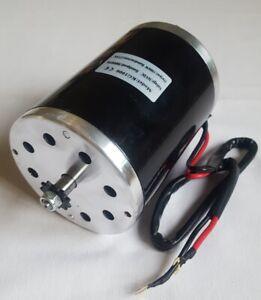 Elektro Motor E-Scooter Quad Elektroroller 36V 1000W  3000 RPM 27.8A ohne Platte