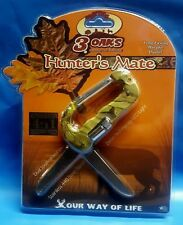 Hunters 4 tin 1 Carabiner Knife Saw Led 3 Oaks Hunting & Outdoors Hunter's Mate