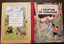 LES AVENTURES DE JO ZETTE ET JOCKO 1952 L'eruption du karamako. E.O. (B6)