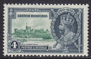 BRITISH HONDURAS SG144 4c 1935 SILVER JUBILEE UNMOUNTED MINT