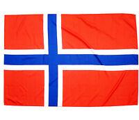 Fahne Norwegen Querformat 90 x 150 cm norwegische Hiss Flagge Nationalflagge
