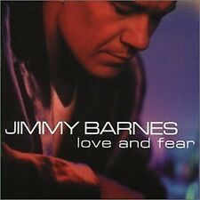 Jimmy Barnes Love And Fear CD NEW 1999 Cold Chisel