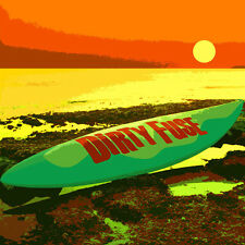 Dirty Fuse, CD album, 2012, surf music from Greece, import, rock, green cookie