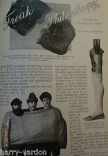 Freak Philanthropy Strange Charity Gifts Old Victorian Photo Article 1899