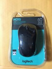 Brand New Logitech - M310 Wireless Optical Mouse - Black FREE SHIPPING