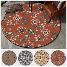Floor Mat Carpet Non-slip Area Rug Cushion Kitchen Bathroom Doormat Retro Flower