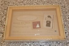 "Jolee's By You, Natural Finish Wooden Shadow Box Frame, 4"" by 6"", Showcase, NEW"