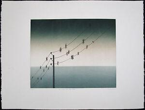 Jean SOLOMBRE, Original Aquatint, De Vagues Idees Dans l'Air, Signed Numbered