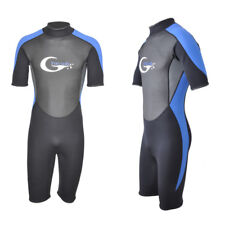 3Mm Men's Short Neoprene Diving Warm Wetsuits Surfing Snorkeling Swimwear