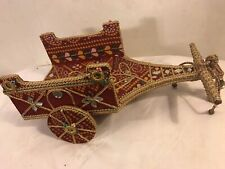 Mexican Handmade.Chariot Miniature Ceremonial.C10pix4Condition&detail.MAKE OFFER