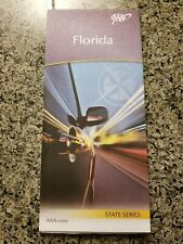 AAA FLORIDA State Travel Road Map Vacation Roadmap 2019-2021