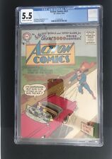 Action Comics #221 CGC 5.5 (1956) 1st Silver Age Issue