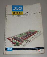 Teilekatalog / Ersatzteilliste ILO Allzweck-Motor L101