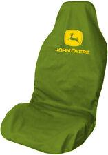 More details for john deere logo waterproof premium car seat cover protector olive green