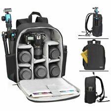 CADeN Camera Backpack Bag Waterproof Lens Case Rucksack For DSLR SLR Canon Nikon