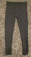 Thermal - Grey Ribbed, Long Johns Size L,Polycotton- Pre Owned