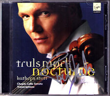 Truls Mork firmato Chopin Cello Sonata Nocturne transcriptions CD Kathryn Stott