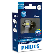Philips Xtreme ultinon Festoon Bombilla LED C5W 4000K 30 mm (single Bombilla)