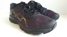 Asics Gel-Kayano 24 Black Gold vareuse Hommes Chaussures De Course D Largeur T749N-5890