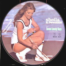 SHEILA Seven Lonely Days FR Press Carrere CA 611 Picture Disc Maxi 45 RPM
