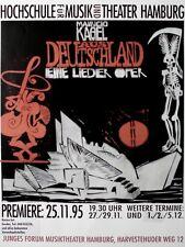 KAGEL, MAURICIO - 1995 - Plakat - Aus Deutschland - Hamburg - Poster