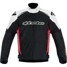 Blousons toutes saisons rouges Alpinestars pour motocyclette
