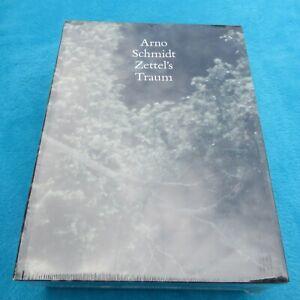 ZETTELS TRAUM Arno SCHMIDT Suhrkamp Verlag 2010 OVP 9783518803004 sealed NEU