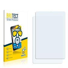 2x Display Schutz Folie für Samsung Galaxy Tab S6 Lite WiFi Matt Entspiegelt