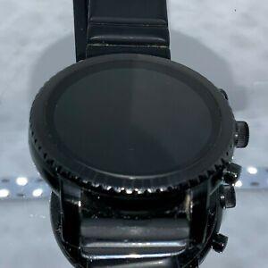Fossil Q Explorist FTW4005 Gen 3 Smartwatch 46mm Stainless Steel Black
