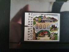 FRAMA ATM Liechtenstein, aus Michel 12-23, 0000 - Druck xx