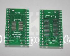 Adattatore PCB per  IC DAL SOP4 AL SOP28 E DAL SSOP4 AL SSOP28