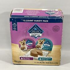 Blue Buffalo Delights Natural Adult Small Breed Wet Dog Food Cups Variety Pack